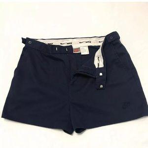 VTG Nike Blue Shorts Tag Sz 36 Actual 34 Agassi